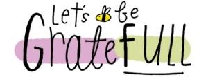 Let's be gratefull