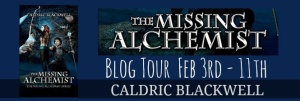 missing alchemist blog tour banner