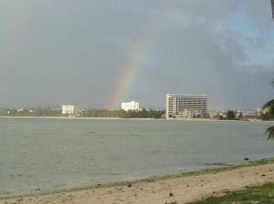 Rainbow on Guam